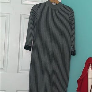 Forever 21 Striped Sweaterdress